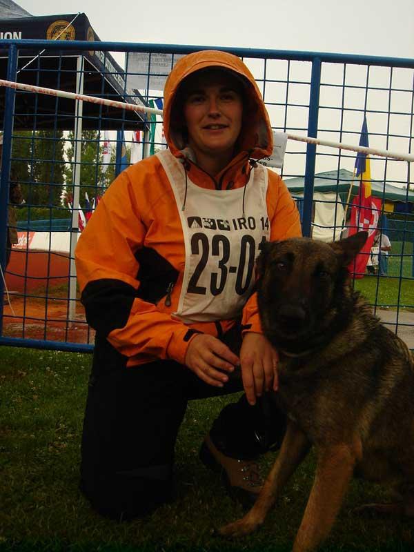 GPSE Campeonato del Mundo de Perros de Rescate de la I.R.O. en Samobor (Croacia).