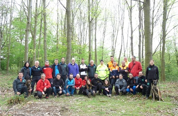 Foto Grupo Formación Voluntarios I 2017