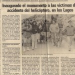 I Aniversario Accidente