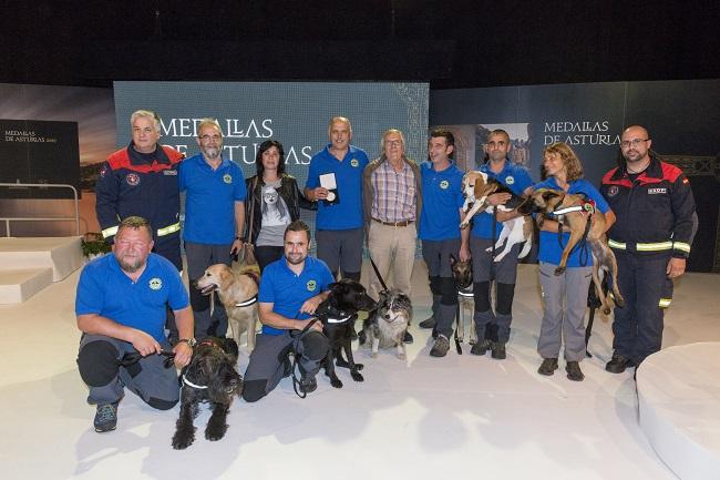 Medallas Asturias 2017 -Grupo