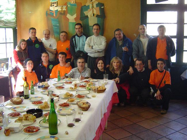 Aniversario Peña Real Sociedad, Soraluze 2005